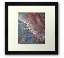 Abstract Organic Duvet Cover Art Framed Print