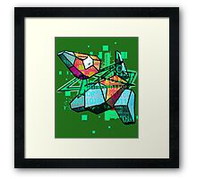 PORYGON - ERROR Framed Print