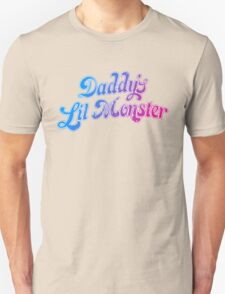 Daddy's Lil Monster Funny Cosplay Costume for Movie Fans Unisex T-Shirt