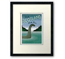 Visit Loch Ness Framed Print