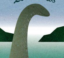 Visit Loch Ness Sticker