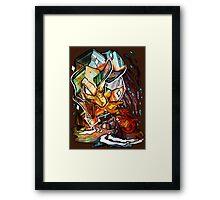 CRYSTAL ONIX Framed Print