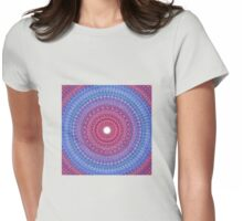 Keeping a Loving Heart Mandala Womens Fitted T-Shirt