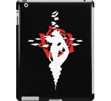 Twisted Fate Rose Black iPad Case/Skin