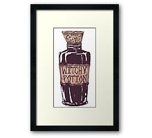 Witchy Potion Framed Print