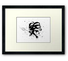 Fizz Ink Framed Print