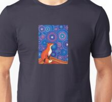 Star Gazing Fox Unisex T-Shirt