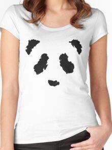Rorschach Panda Women's Fitted Scoop T-Shirt