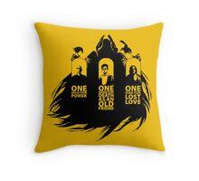Deathly Hallows Throw Pillow