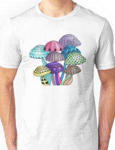 Mushroom Patch Unisex T-Shirt