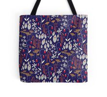Bells and Blues Tote Bag