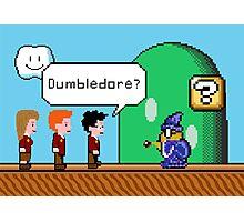 Dumbledore's alive? Photographic Print