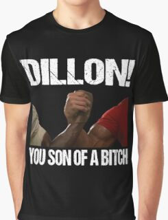 Schwarzenegger Dillon Predator Arm Wrestle  Graphic T-Shirt