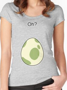 Pokemon GO Egg Oh? Women's Fitted Scoop T-Shirt