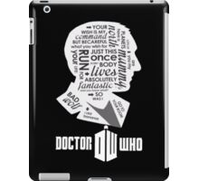 doctor who 9th doctor iPad Case/Skin