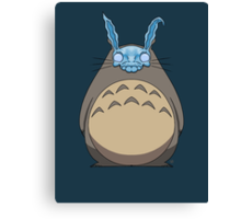 Donnie Darko Totoro Canvas Print
