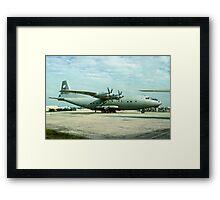 "Antonov An-12 ""Cub"" 2105 Framed Print"