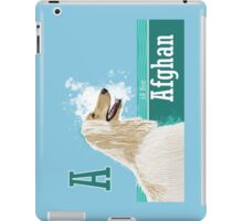 A is for Afghan iPad Case/Skin