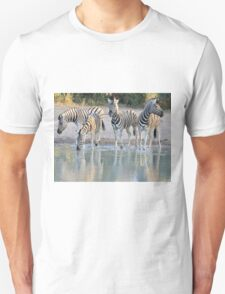 Zebra Reflection - Beautiful African Wildlife Unisex T-Shirt