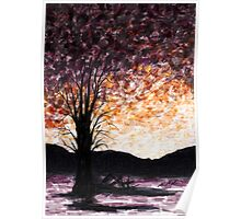 Washoe Meadows State Park Sunset Poster