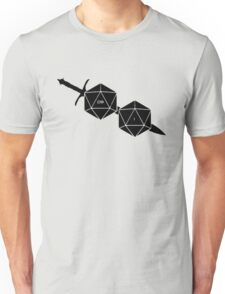 Dungeons And Dragons: The Dice And Sword Unisex T-Shirt