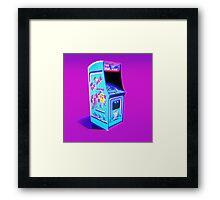 MS. PAC-MAN - 1982 ARCADE MACHINE Framed Print