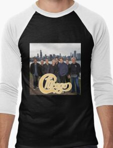 RIC01 Chicago The Band TOUR 2016 Men's Baseball ¾ T-Shirt