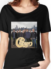 RIC01 Chicago The Band TOUR 2016 Women's Relaxed Fit T-Shirt