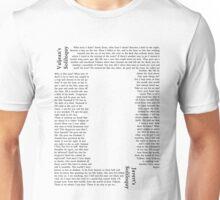 Contrasting Soliloquies Unisex T-Shirt