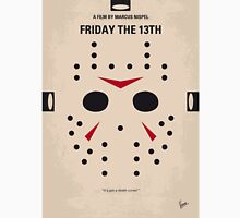 No449 My Friday the 13th minimal movie poster Unisex T-Shirt