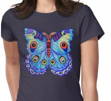 """Just a Butterfly!"" Womens Fitted T-Shirt"