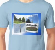 Montage - Preston Temple and Grounds Unisex T-Shirt