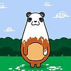 Painting Panda by crabro
