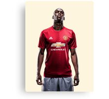 Paul Pogba #Pogback Manchester United (T-Shirt, Phone Case & More)  Canvas Print