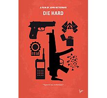 No453 My Die Hard minimal movie poster Photographic Print