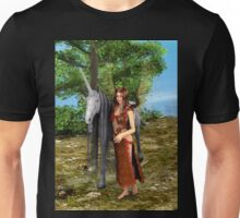 Fairy and Unicorn Unisex T-Shirt
