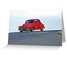 1947 Ford Coupe '50s Style' Greeting Card