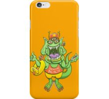 Cool monster rising its thumb to get a ride iPhone Case/Skin