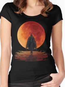 Eileen The Crow Women's Fitted Scoop T-Shirt