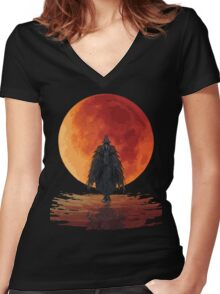 Eileen The Crow Women's Fitted V-Neck T-Shirt