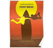 No455 My Point Break minimal movie poster Poster