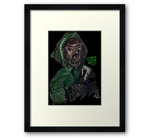 Such a Bore Framed Print