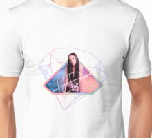 Hannah Diamond - Pink & Blue Sky Unisex T-Shirt
