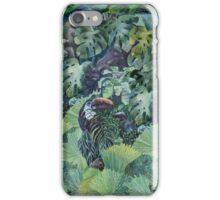 Green jungle iPhone Case/Skin