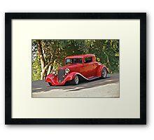 1933 Desoto 'Street Rod' Coupe Framed Print