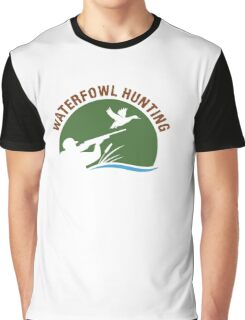 Waterfowl Hunting 3 Graphic T-Shirt
