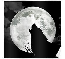 The Wolf And The Moon Poster