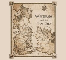 Westeros and the Free Cities by RedLemon
