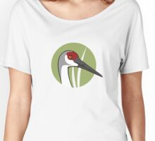 Sandhill Crane  Women's Relaxed Fit T-Shirt