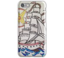 sail the sea  iPhone Case/Skin